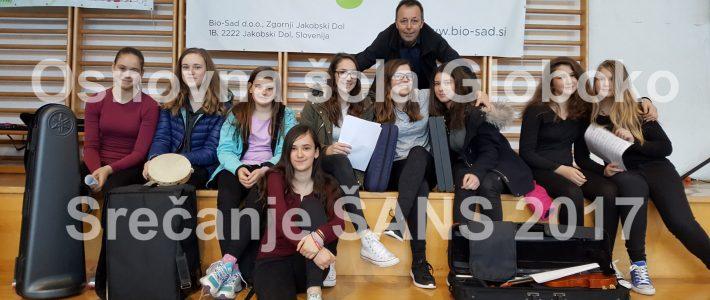 Šolski ansambel na 1. vseslovenskem srečanju šolskih ansamblov