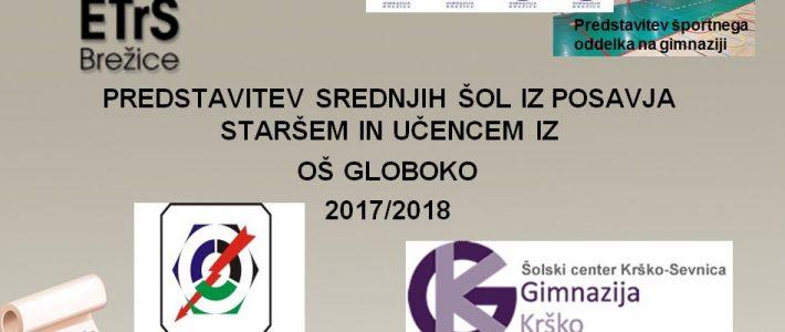Posavske srednje šole na obisku v Globokem